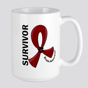 Brain Aneurysm Survivor 12 Large Mug