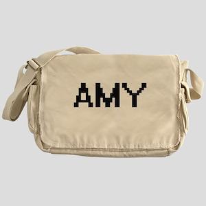 Amy Digital Name Messenger Bag