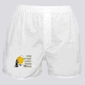 I FISH SO THAT Boxer Shorts