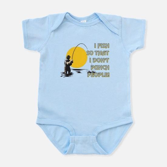 I FISH SO THAT Infant Bodysuit