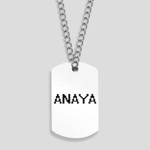 Anaya Digital Name Dog Tags