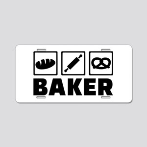 Baker Aluminum License Plate