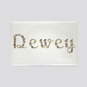 Dewey Seashells Rectangle Magnet