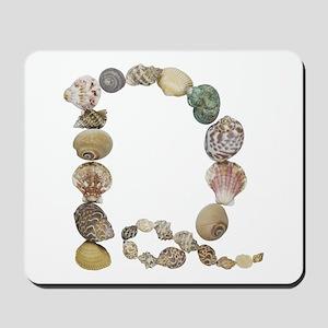D Seashells Mousepad