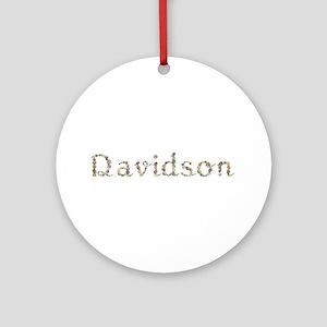 Davidson Seashells Round Ornament