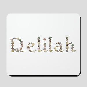 Delilah Seashells Mousepad