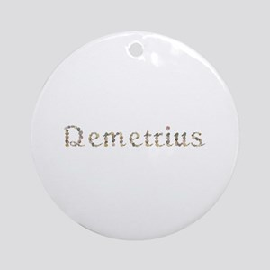 Demetrius Seashells Round Ornament