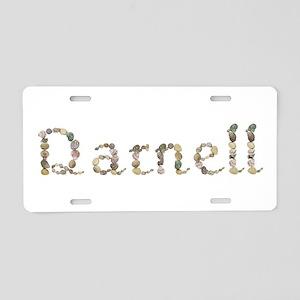 Darnell Seashells Aluminum License Plate