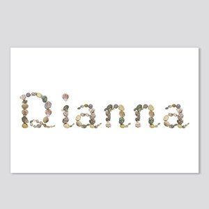 Dianna Seashells Postcards 8 Pack