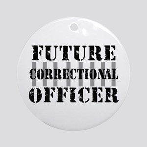 Future Correctional Officer Ornament (Round)