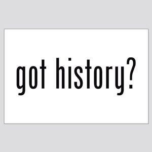 got history? Large Poster