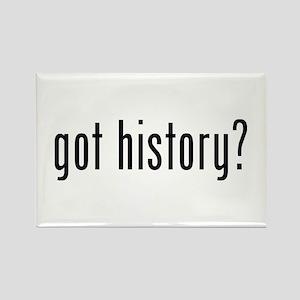 got history? Rectangle Magnet