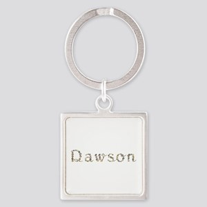 Dawson Seashells Square Keychain