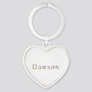 Dawson Seashells Heart Keychain
