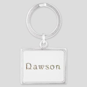 Dawson Seashells Landscape Keychain