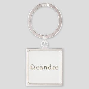 Deandre Seashells Square Keychain