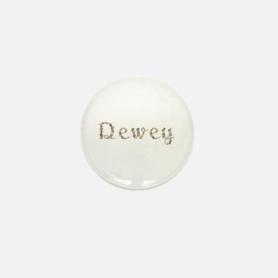 Dewey Seashells Mini Button
