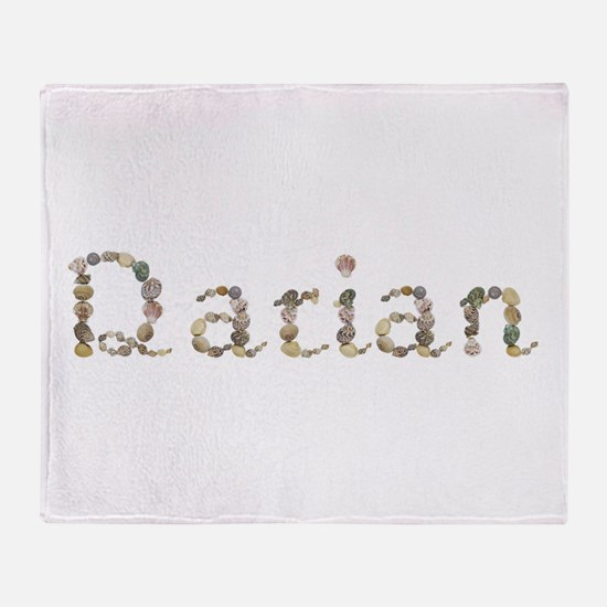 Darian Seashells Throw Blanket