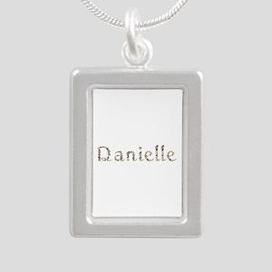 Danielle Seashells Silver Portrait Necklace