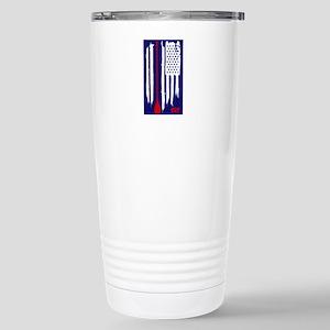Stand Up Paddling US Flag Mugs