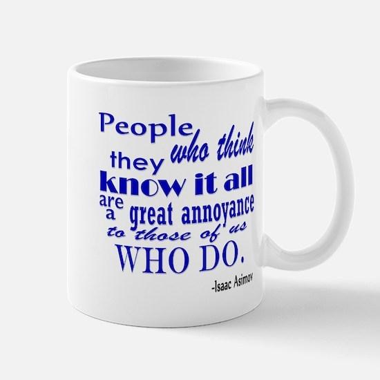Funny Isaac asimov Mug