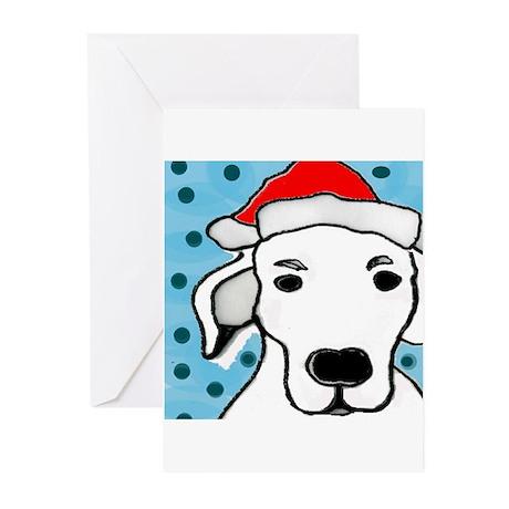 Father Christmas Dog Greeting Cards (Pk of 20)