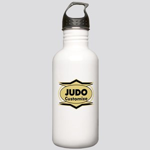 Judo Star stylized Stainless Water Bottle 1.0L