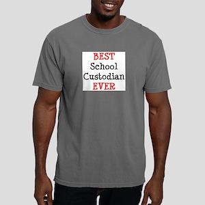 best school custodian ev Mens Comfort Colors Shirt