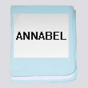 Annabel Digital Name baby blanket