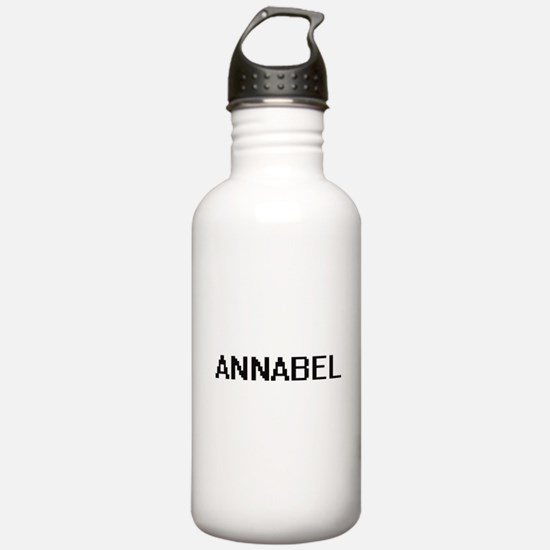 Annabel Digital Name Sports Water Bottle