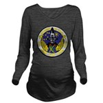 USS HENRY CLAY Long Sleeve Maternity T-Shirt