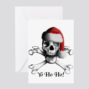 Christmas Pirate Greeting Cards -blank (Pk of 10)
