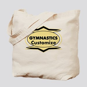 Gymnastics Star stylized Tote Bag