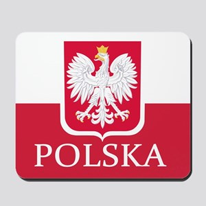 Polska Polish Flag Mousepad
