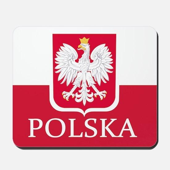 Polska Polish Flag Mousepad