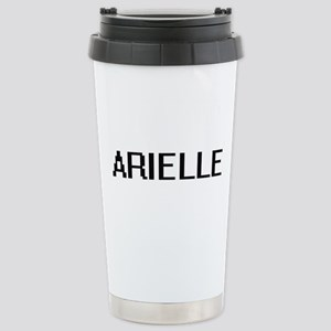 Arielle Digital Name Stainless Steel Travel Mug