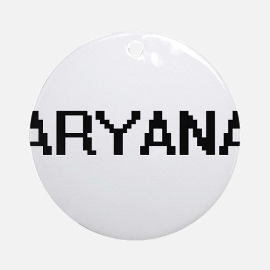 Aryana Digital Name Ornament (Round)