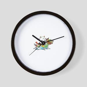 dragonboat2 Wall Clock