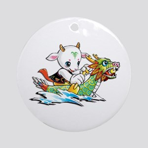 dragonboat2 Ornament (Round)