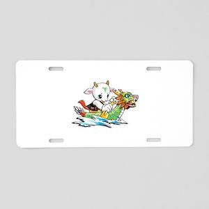 dragonboat2 Aluminum License Plate