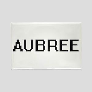 Aubree Digital Name Magnets