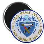 USS HEALY Magnet