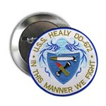 "USS HEALY 2.25"" Button"