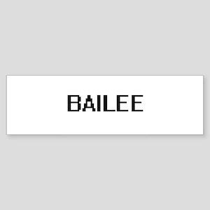 Bailee Digital Name Bumper Sticker