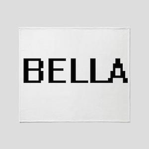 Bella Digital Name Throw Blanket