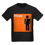 iHope (orange) Kids Dark T-Shirt