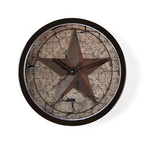 Country Western Wall Clocks