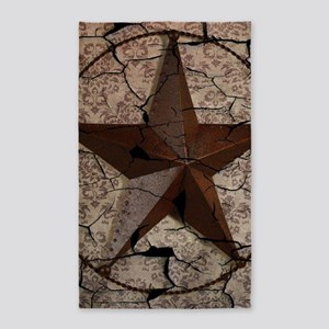 rustic texas lone star Area Rug