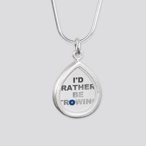 I'd Rather Be Throwing Discus Necklaces