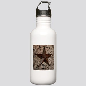 rustic texas lone star Stainless Water Bottle 1.0L